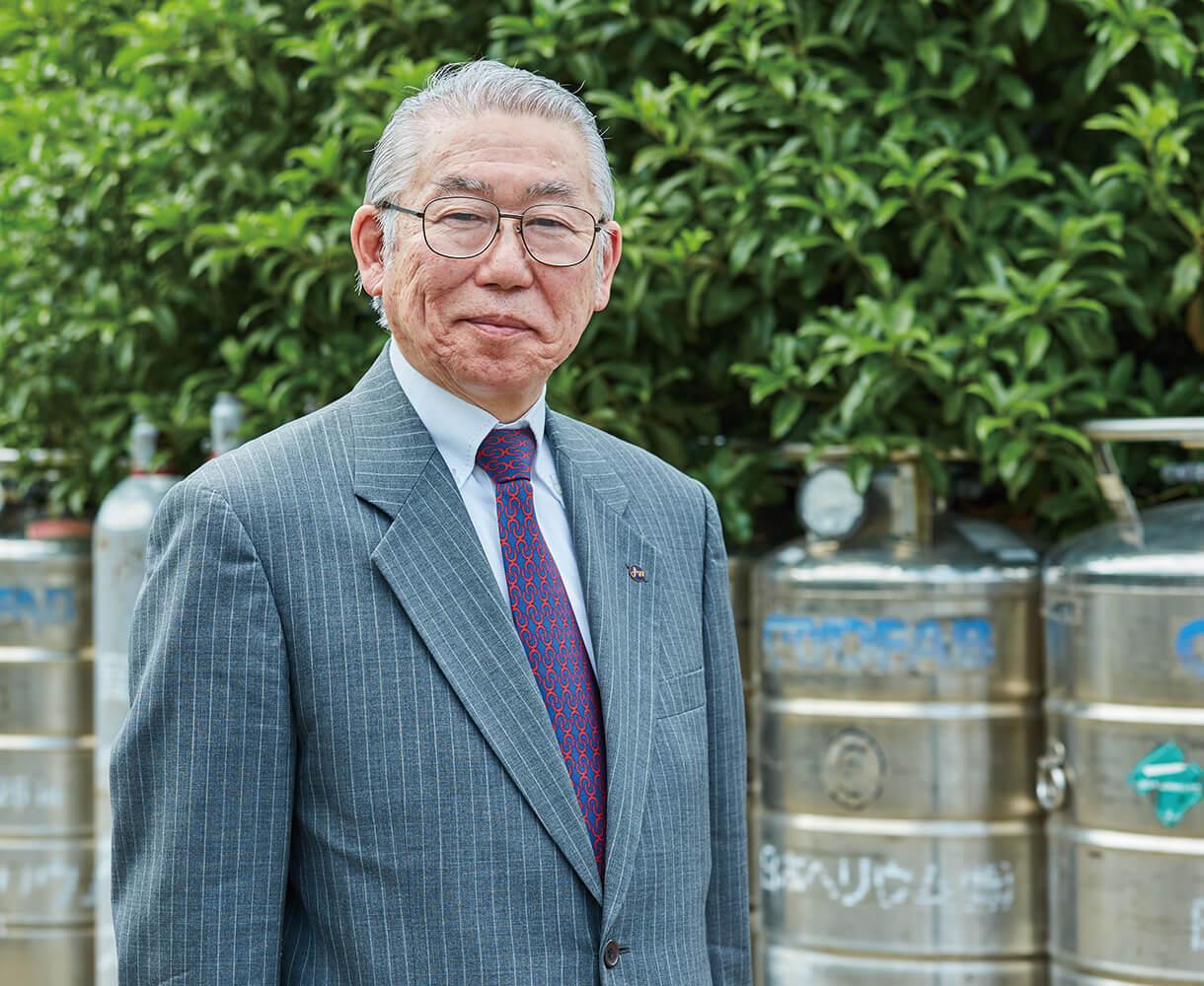 President and CEO Ken Hagiwara