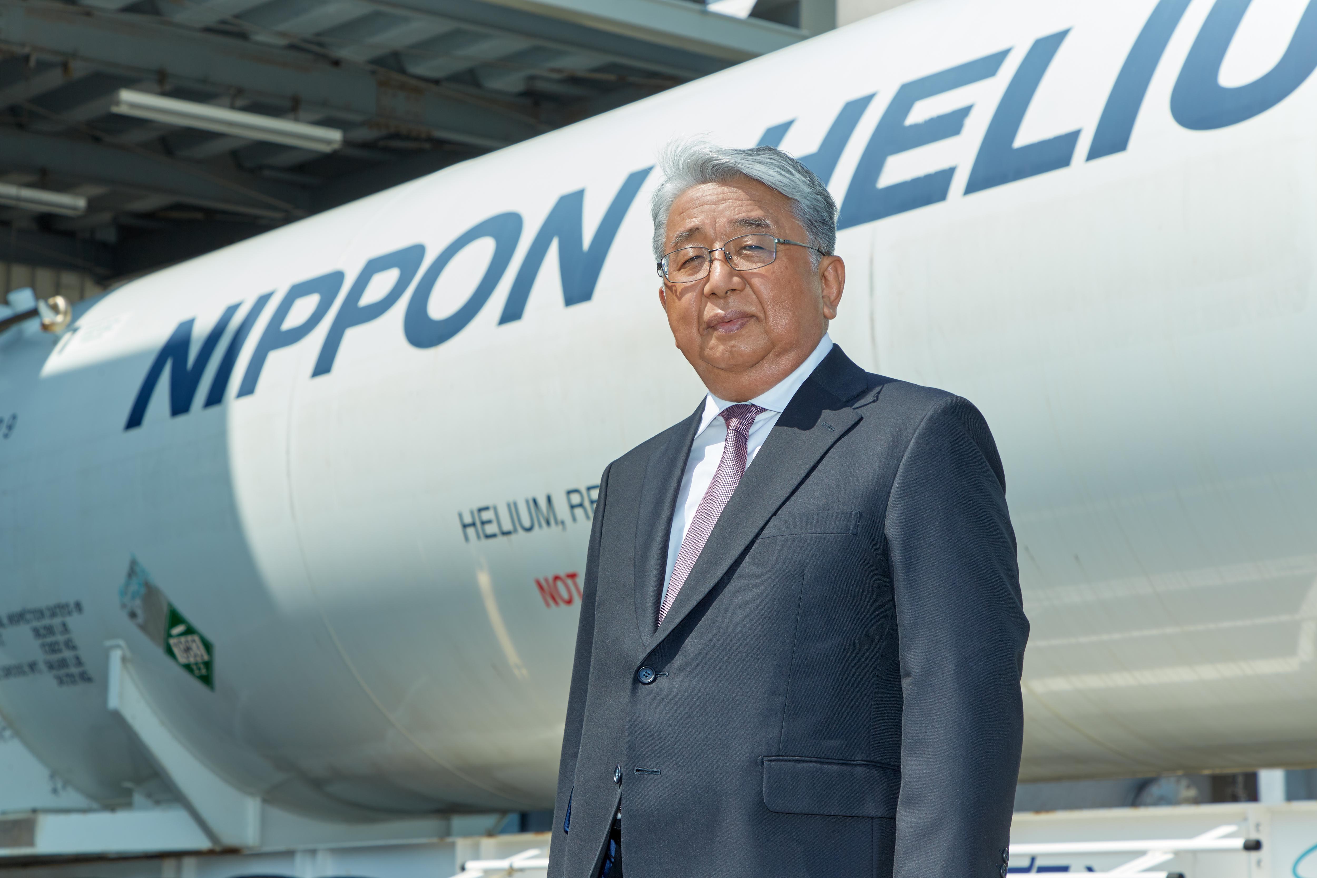 President and CEO Hirofumi Matsuyama