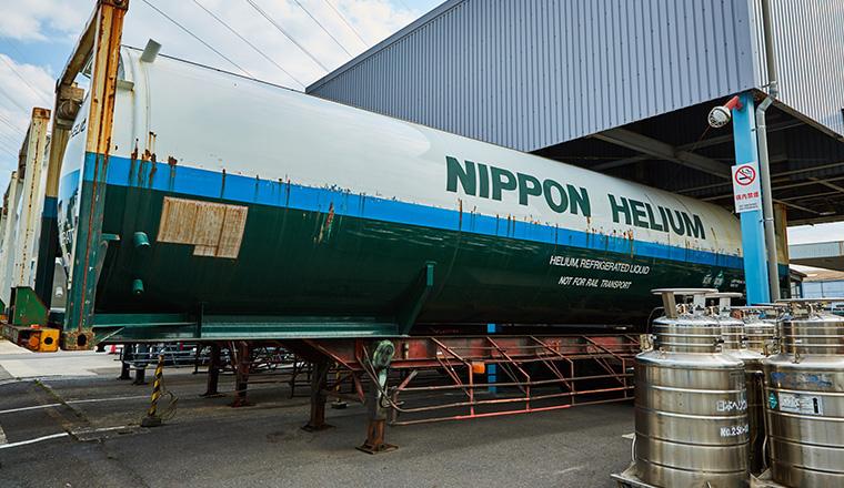 日本ヘリウム コンテナ